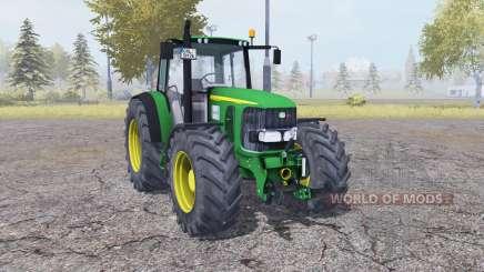 John Deere 6920 green для Farming Simulator 2013