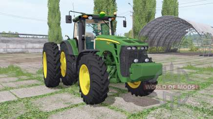 John Deere 8530 dual rear для Farming Simulator 2017