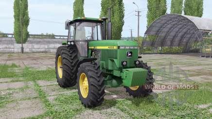 John Deere 4555 v4.0 для Farming Simulator 2017