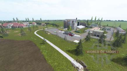 Euro Farms v1.2 для Farming Simulator 2017
