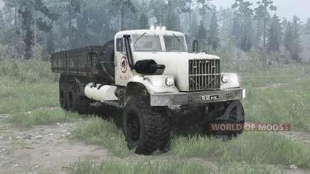 КрАЗ 257 6x6 для MudRunner