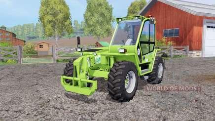 Merlo P41.7 Turbofarmer rear hydraulics для Farming Simulator 2015