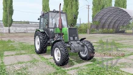 МТЗ 1025 Беларус зелёный для Farming Simulator 2017