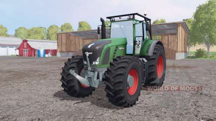 Fendt 936 Vario SCR forest edition для Farming Simulator 2015