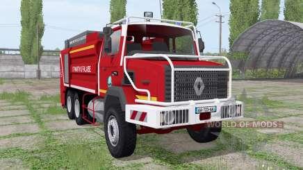 Renault C280 Sapeurs-Pompiers для Farming Simulator 2017