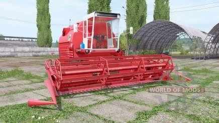 Bizon Gigant Z083 4x4 для Farming Simulator 2017