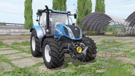New Holland T6.165 loader mounting для Farming Simulator 2017