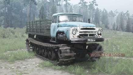 ЗиЛ В-1 Витязь опытный 1967 для MudRunner