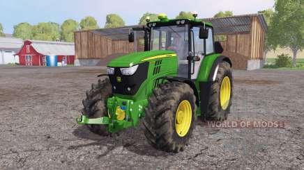 John Deere 6170M loader mounting для Farming Simulator 2015