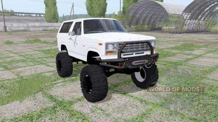 Ford Bronco XLT (U150) 1981 v1.1 для Farming Simulator 2017