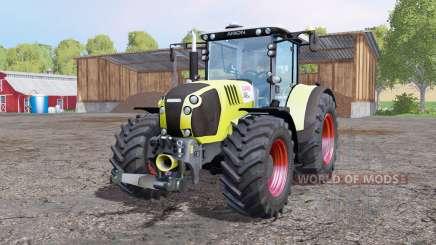 CLAAS Arion 650 ploughing spec для Farming Simulator 2015