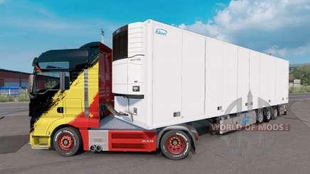Ekeri Trailer v1.4 для Euro Truck Simulator 2