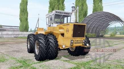 RABA-Steiger 250 twin wheels для Farming Simulator 2017