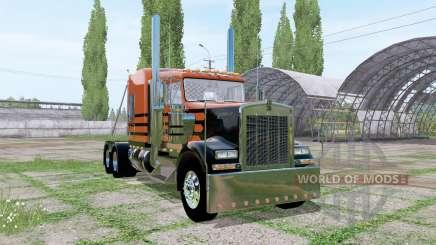Kenworth W900 v2.0 для Farming Simulator 2017