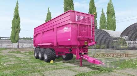 Krampe Big Body 900 multicolor для Farming Simulator 2017