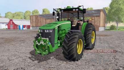 John Deere 8370R Panel IC для Farming Simulator 2015