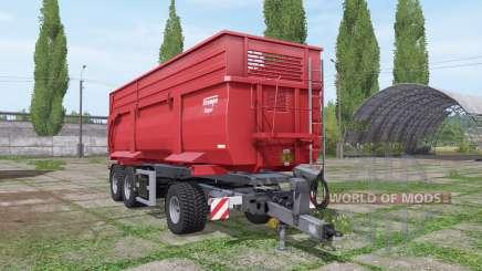 Krampe DA 34 Roadrunner для Farming Simulator 2017