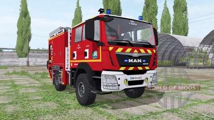 MAN TGM Sapeurs-Pompiers для Farming Simulator 2017