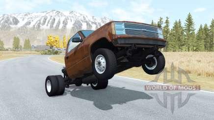 Gavril D-Series wheelie v1.1 для BeamNG Drive