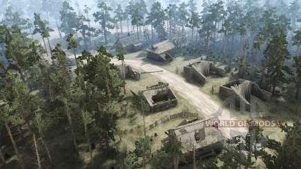 Заброшенная деревня для MudRunner