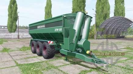 BERGMANN GTW 430 update для Farming Simulator 2017
