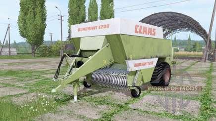 CLAAS Quadrant 1200 old для Farming Simulator 2017