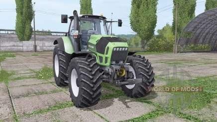 Deutz-Fahr Agrotron X720 wide tyre для Farming Simulator 2017