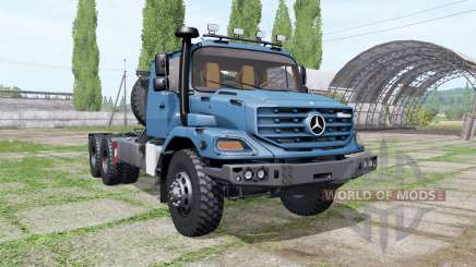 Mercedes-Benz Zetros 3643 AS 6x6 для Farming Simulator 2017