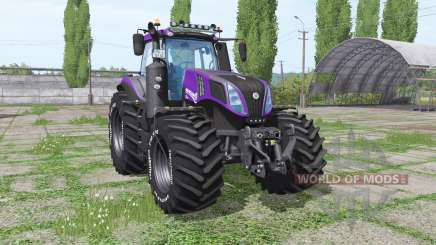 New Holland T8.420 Reaver для Farming Simulator 2017