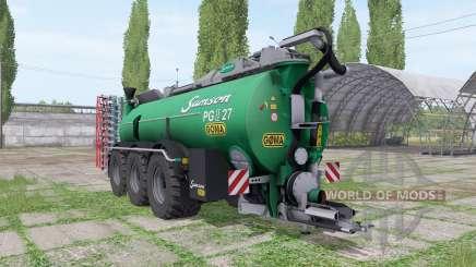 Samson PG II 27 Göma для Farming Simulator 2017