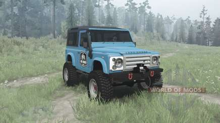 Land Rover Defender 90 Station Wagon для MudRunner