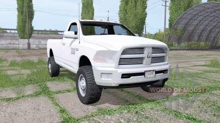 Dodge Ram 2500 Heavy Duty Regular Cab 2012 для Farming Simulator 2017