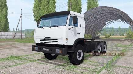 КАМАЗ-54115 v1.1 для Farming Simulator 2017