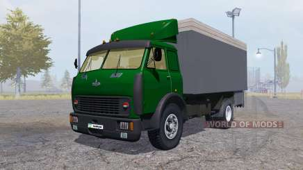МАЗ 500 контейнер зелёный для Farming Simulator 2013