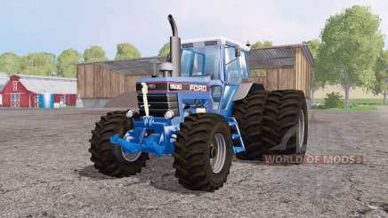 Ford 8630 dual rear для Farming Simulator 2015