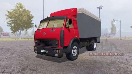 МАЗ 500 контейнер красный для Farming Simulator 2013