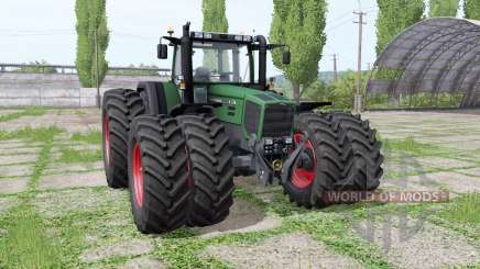 Fendt Favorit 816 Turboshift double wheels для Farming Simulator 2017