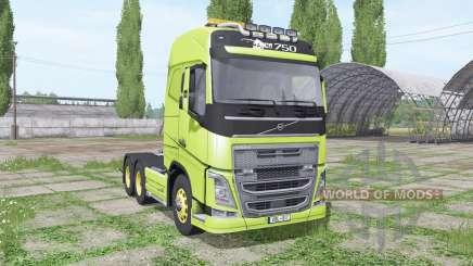 Volvo FH16 750 interactive control для Farming Simulator 2017