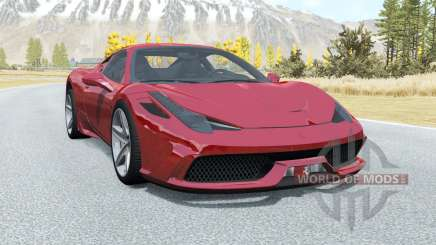 Ferrari 458 Speciale для BeamNG Drive