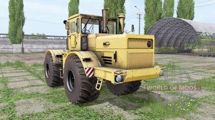 Кировец К-700А yellow для Farming Simulator 2017