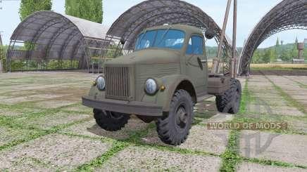 ГАЗ 63П 1958 для Farming Simulator 2017