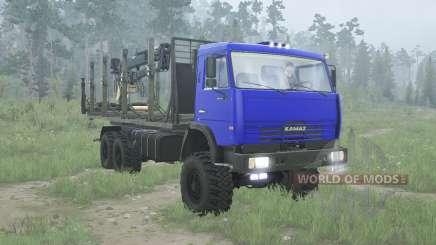 КамАЗ 65115 для MudRunner