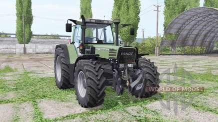 Fendt Favorit 515C Turbomatik loader mounting для Farming Simulator 2017