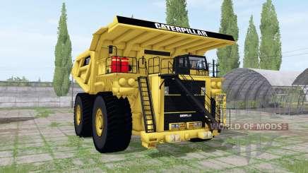 Caterpillаr 797B для Farming Simulator 2017