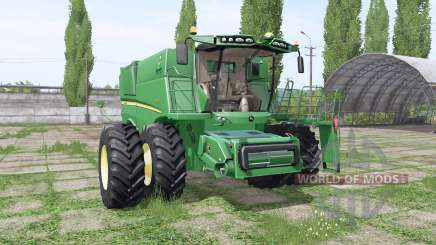 John Deere S690 для Farming Simulator 2017