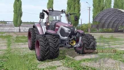 Lindner Lintrac 90 double wheels для Farming Simulator 2017