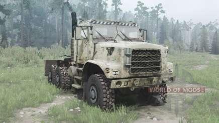 Oshkosh MTVR 6x6 tractor (MK31) для MudRunner