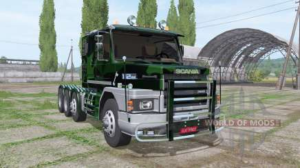 Scania T112HW 8x8 360 forest для Farming Simulator 2017
