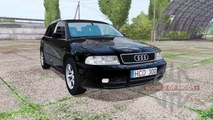 Audi A4 Avant (B5) 2001 v2.0 для Farming Simulator 2017