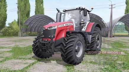 Massey Ferguson 8740 S Michelin v2.0 для Farming Simulator 2017